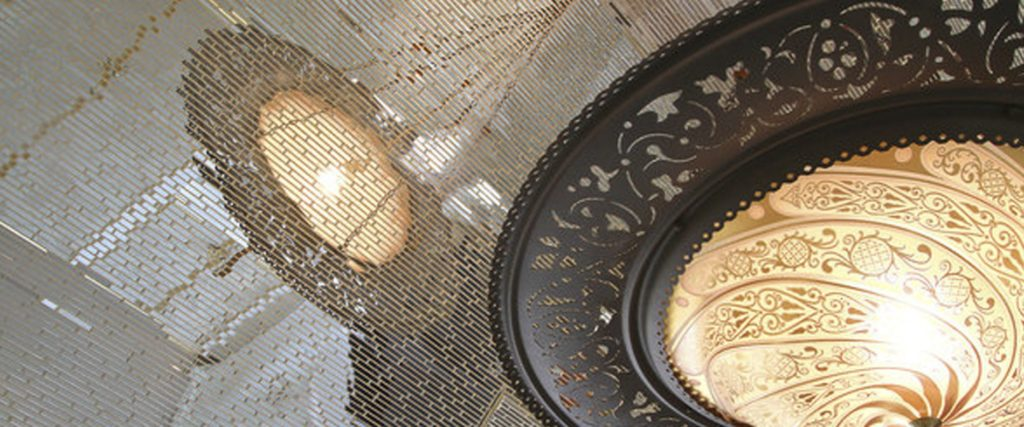 House of rock Los Angeles Fortuny lamps