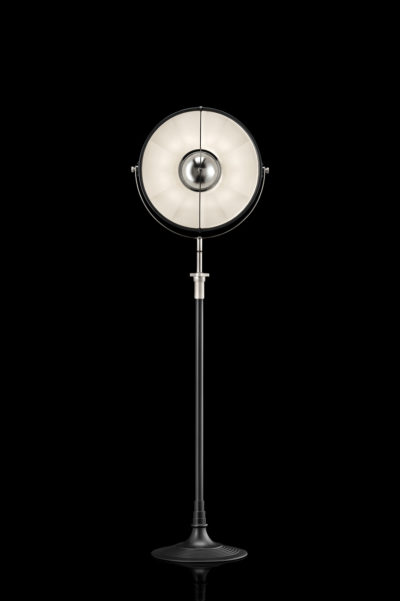 Fortuny Atelier 41 floor lamp black and white