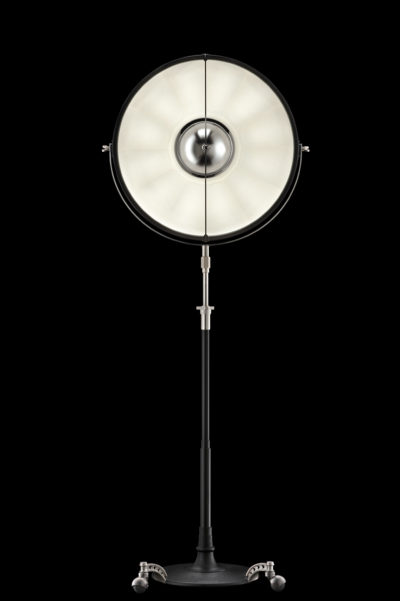 Fortuny Atelier 63 floor lamp black white