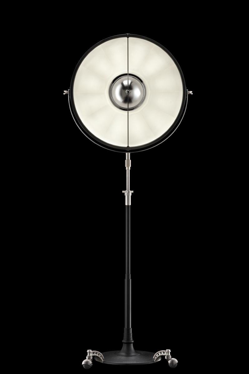 Fortuny Atelier 63 floor lamp black white