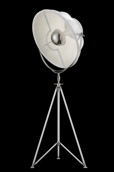Fortuny Studio 76 floor white lamp