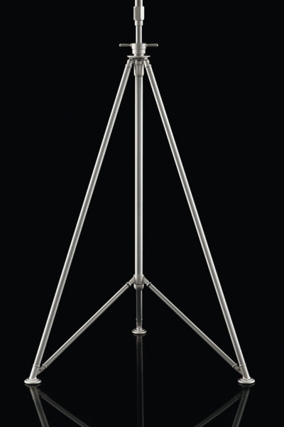 Fortuny studio floor steel tripod