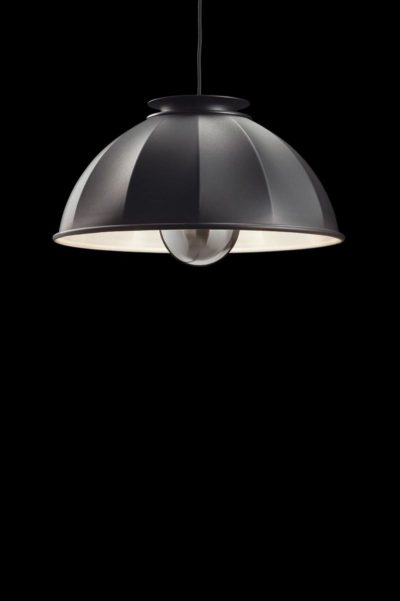 Fortuny Cupola suspended lamp black and white