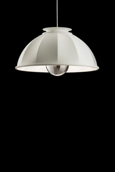 Fortuny Cupola ceiling lamp white white leaf