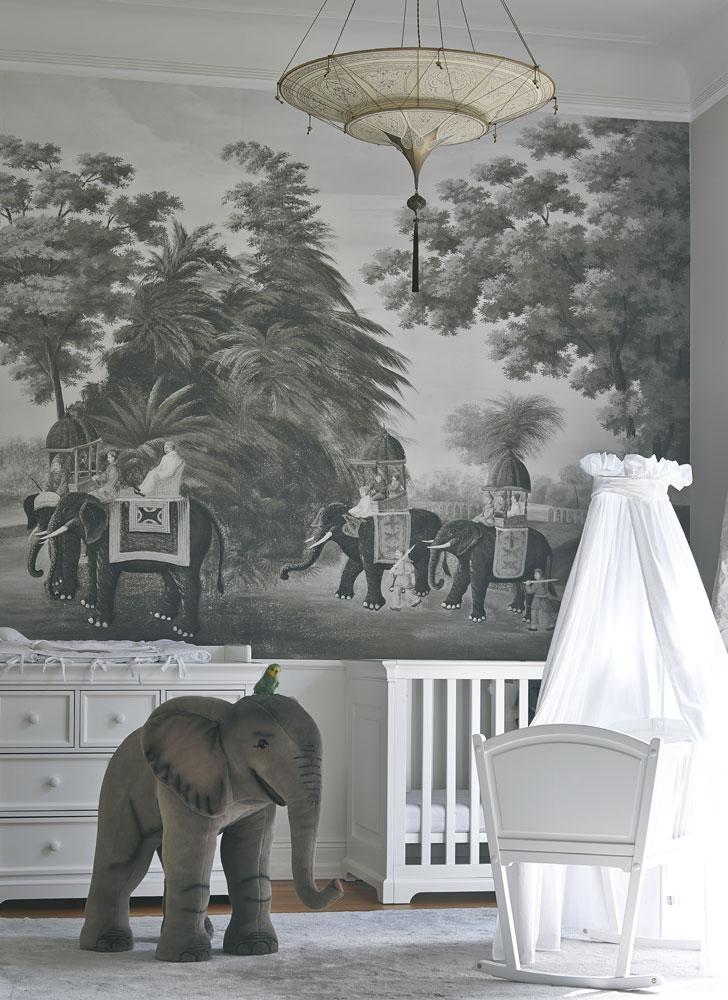 Fortuny Scheherazade 2 tiers Geometric silk lamp bedroom