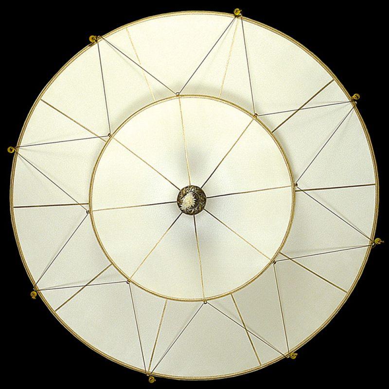 Fortuny Scheherazade 2 tiers Plain silk lamp bottom