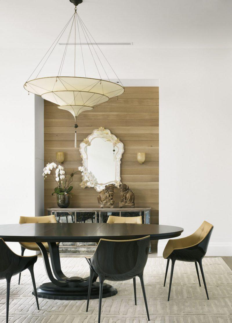 Fortuny Scheherazade 3 tiers plain silk lamp ambient