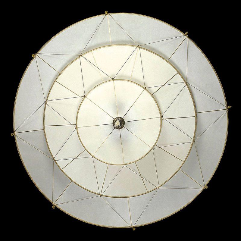 Fortuny Scheherazade 3 tiers Plain silk lamp bottom