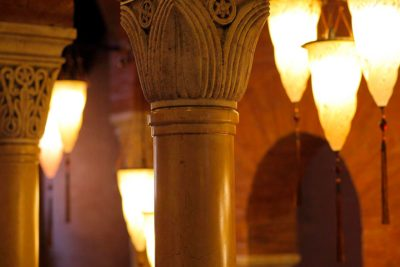Palazzo Stern en Venecia con lámparas Fortuny 4