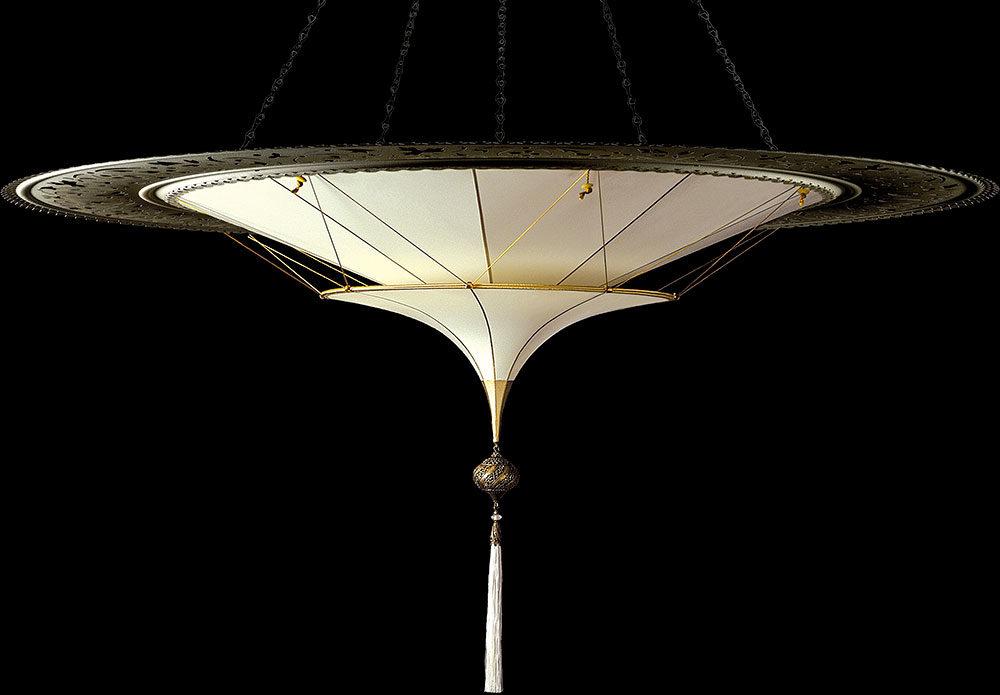 Silk Scheherazade 2 tiers with metal ring