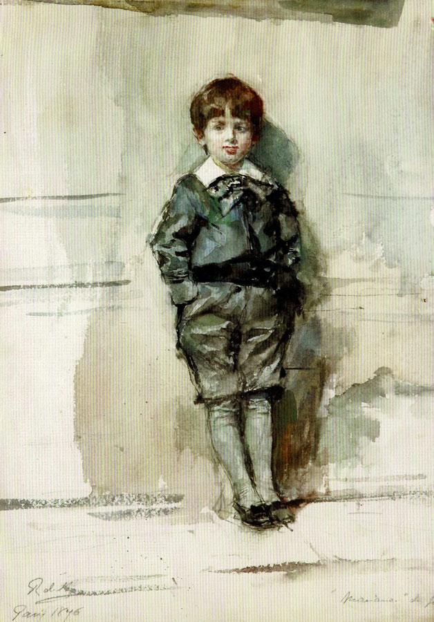 Mariano Fortuny, aged six