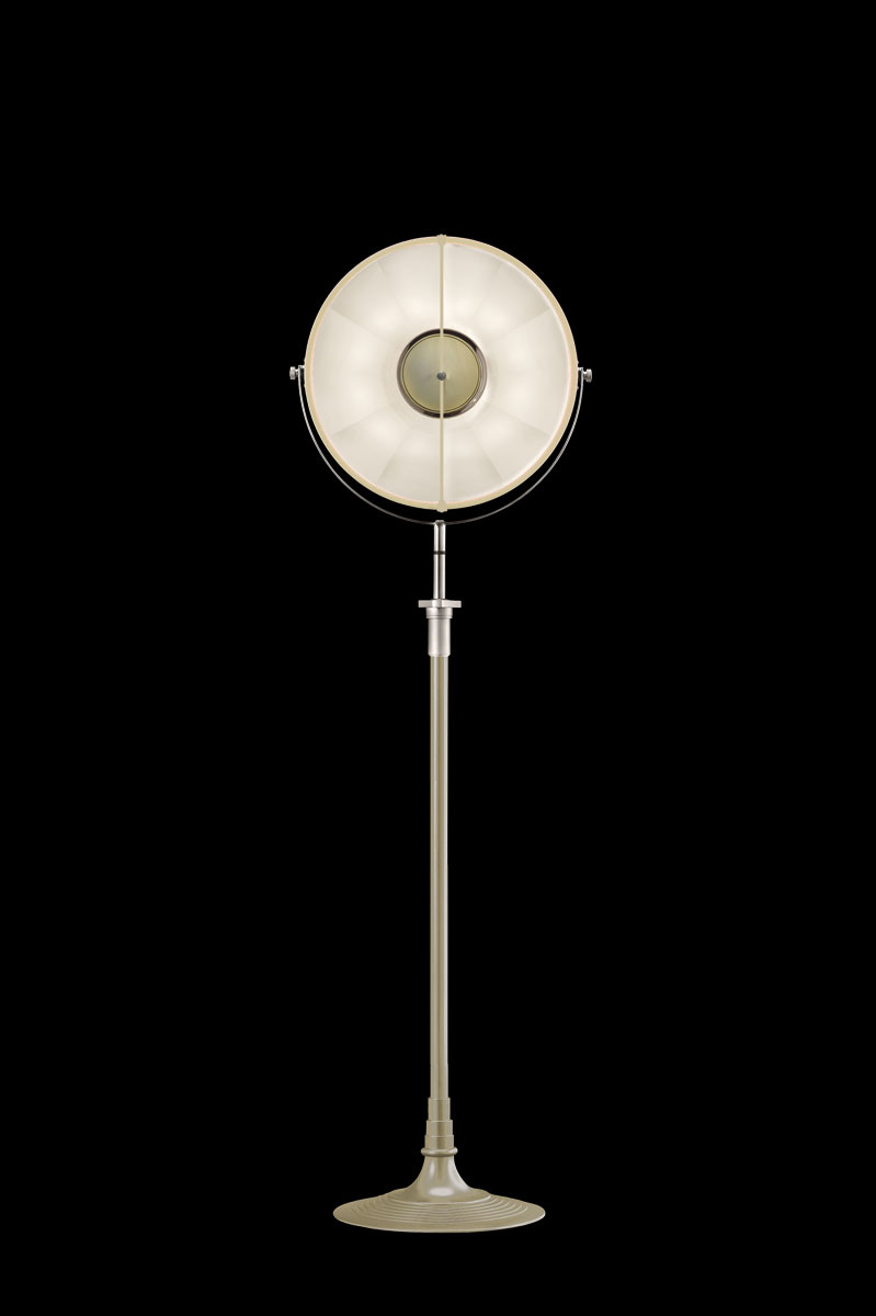 Fortuny Atelier 41 floor lamp quartz & white