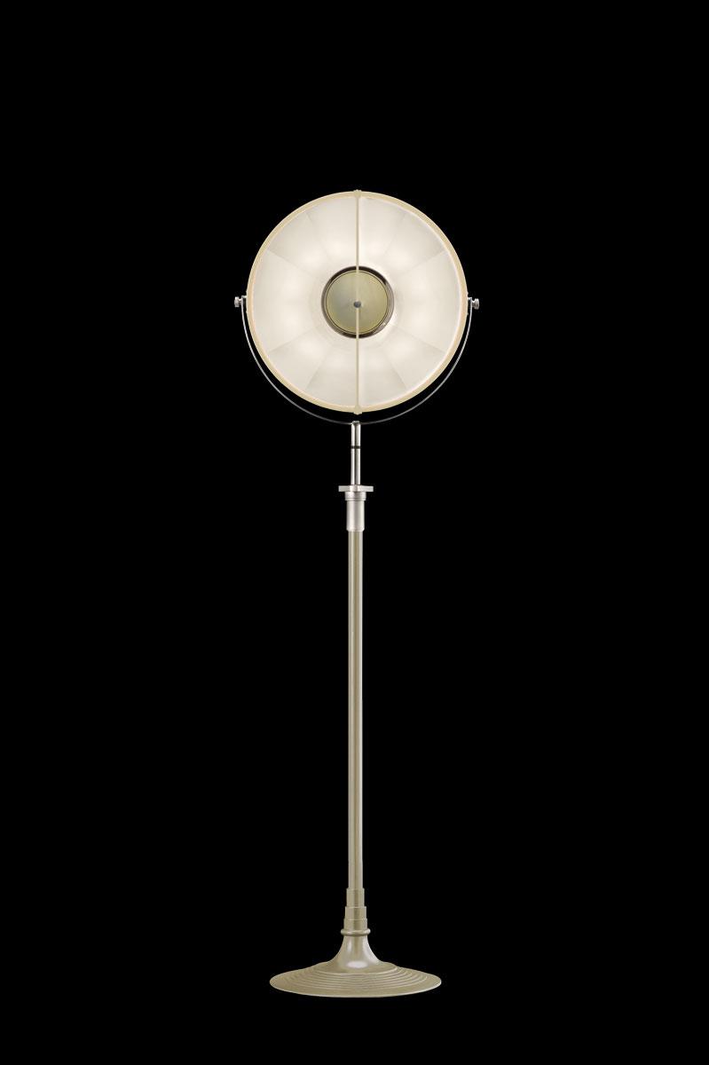 Fortuny Atelier 41 floor lamp quartz & white