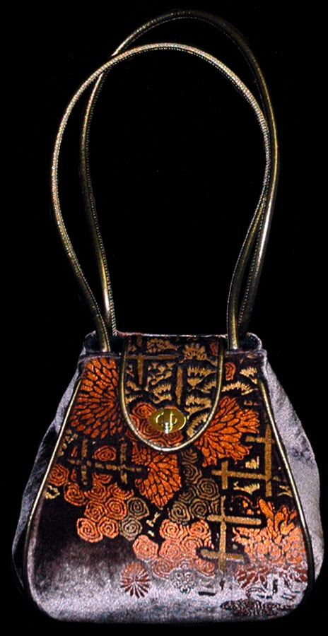 Fortuny Moretta 903 printed velvet bag