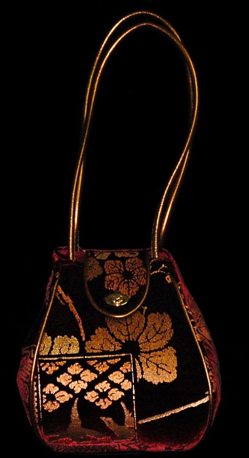 Fortuny Moretta 908 printed velvet bag