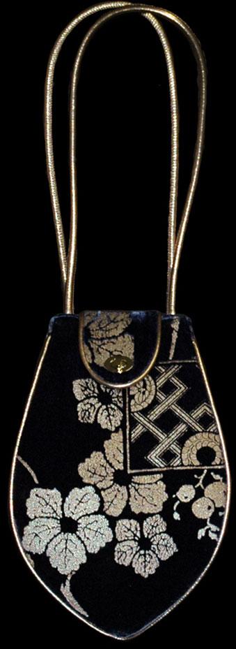 Fortuny Moretta 909 printed velvet bag