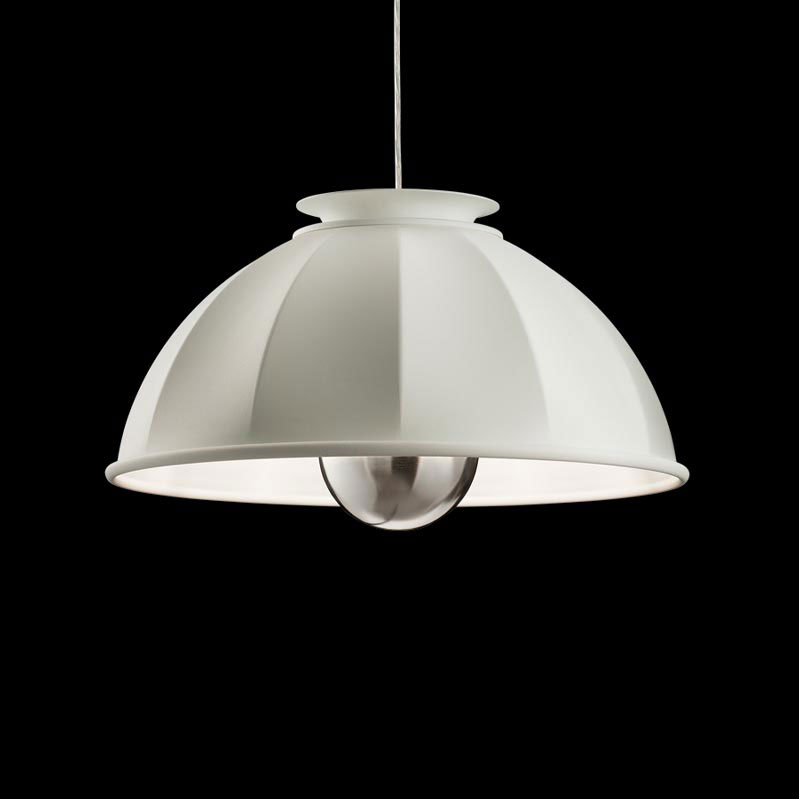 Fortuny Cupola ceiling lamp white