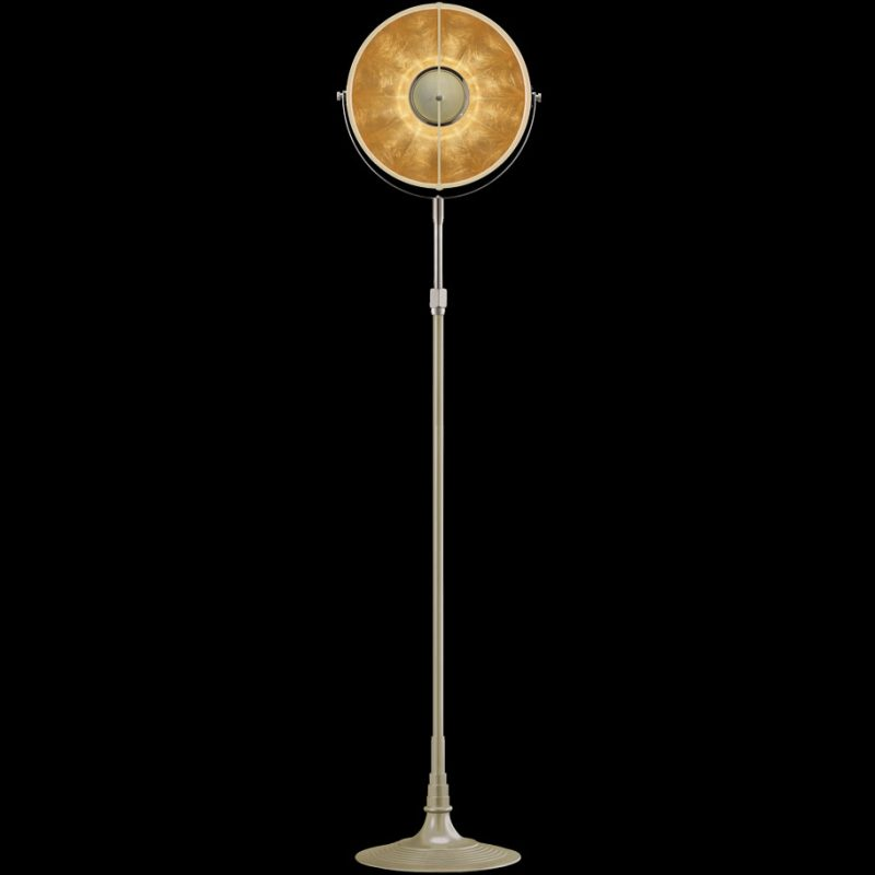 Fortuny lamp Studio 1907 Atelier 32 quartz & gold leaf