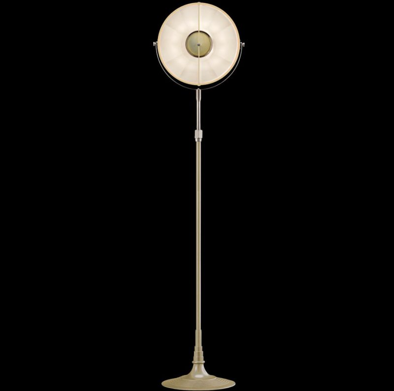 Fortuny lamp Studio 1907 Atelier 32 quartz & white