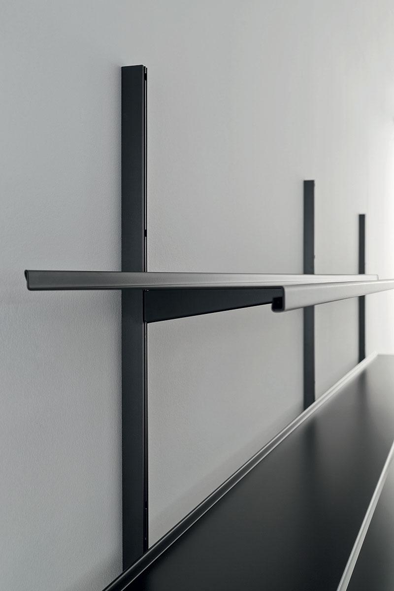 Pallucco Continua modular bookcase detail 2