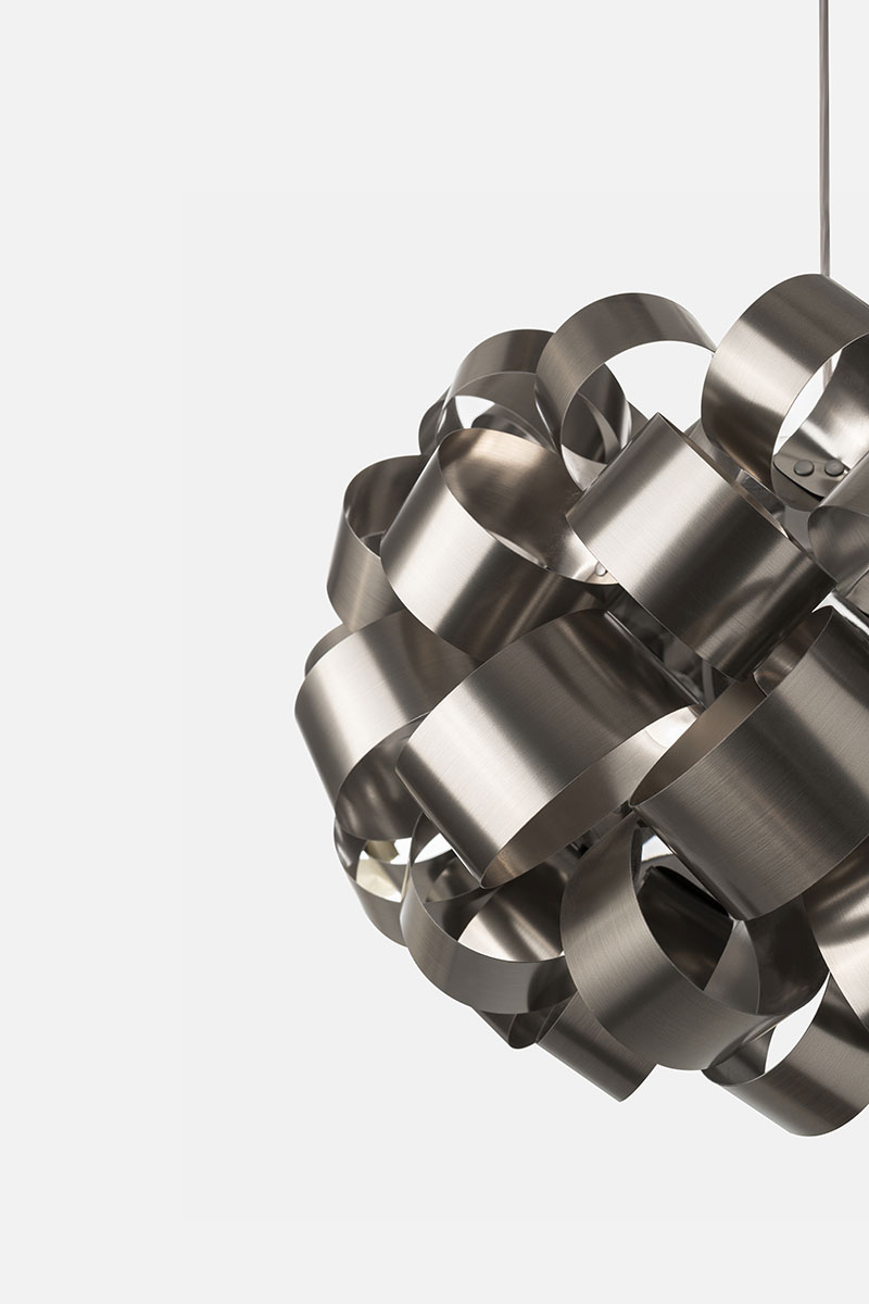 Pallucco Ring Sphere nickel