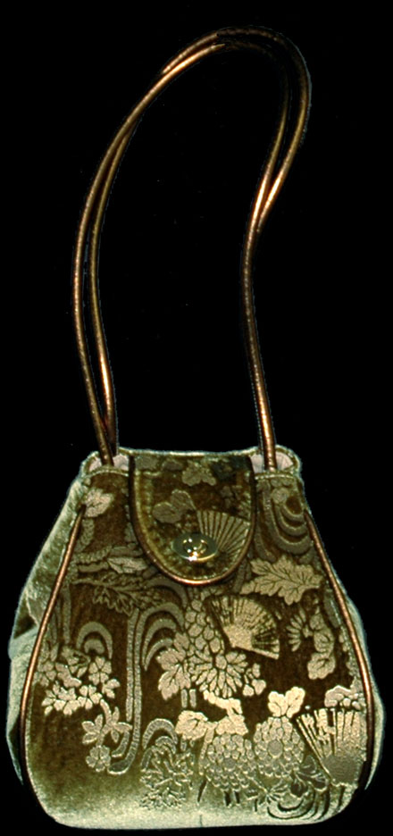 Fortuny Moretta 913 printed velvet bag