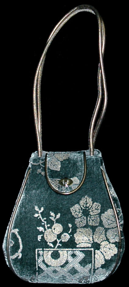 Fortuny Moretta 916 printed velvet bag
