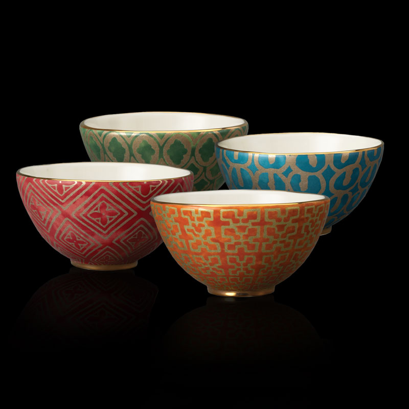 Fortuny tableware assorted cereal bowls