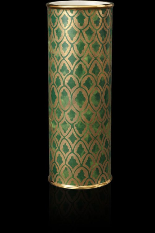 Fortuny Peruviano green large vase