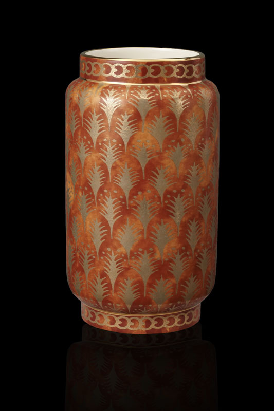 Fortuny Piumette orange medium vase