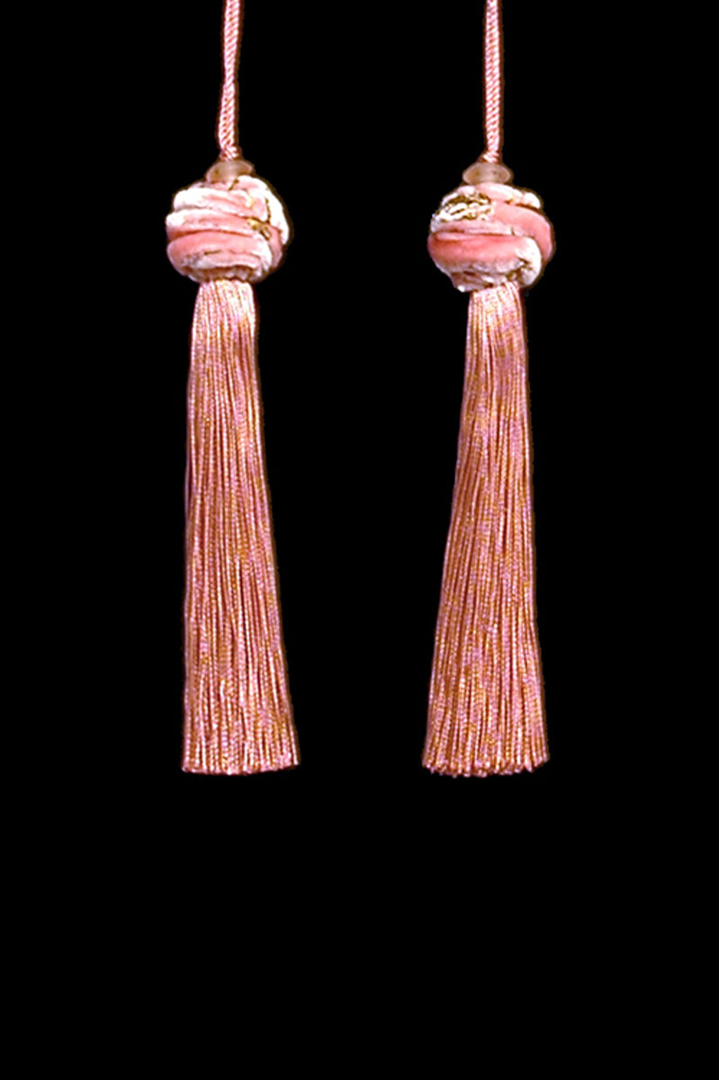 Venetia Studium Turbante couple of cork key tassels