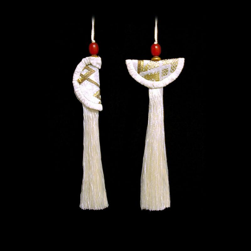 Geisha & Samurai key tassels