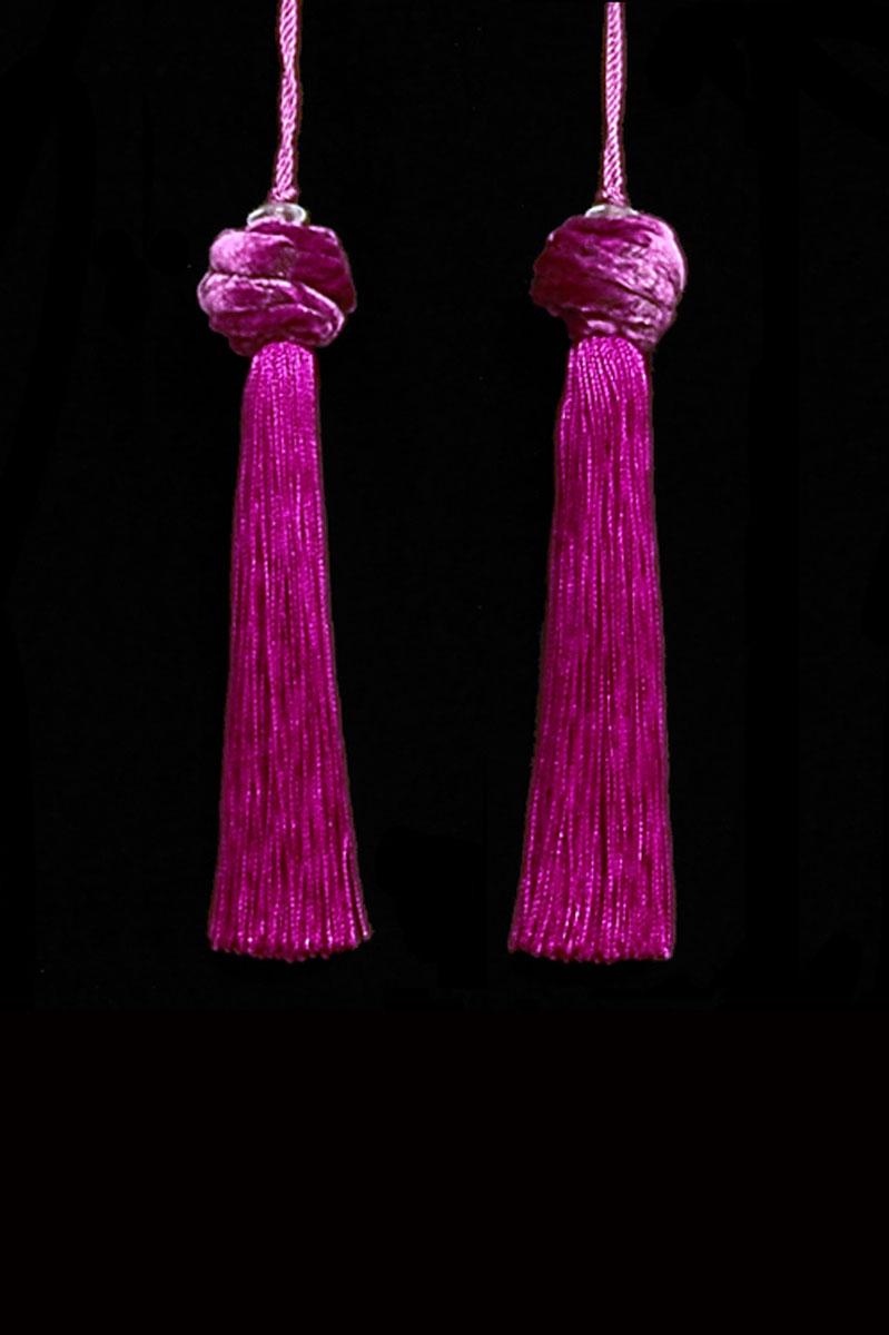 Venetia Studium Turbante couple of strawberry key tassels