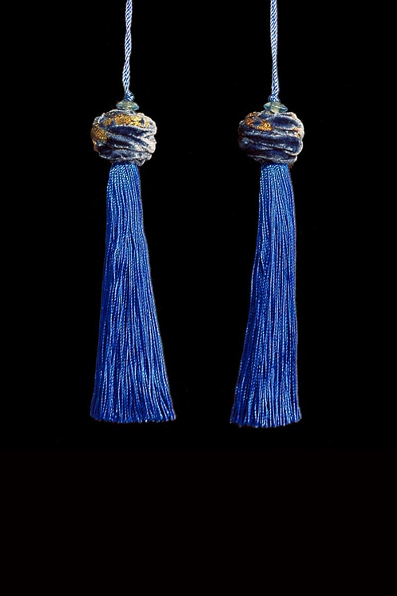 Venetia Studium Turbante couple of Byzantine key tassels