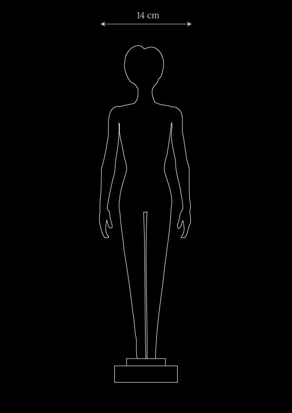 Diva collectible fashion doll dimensions