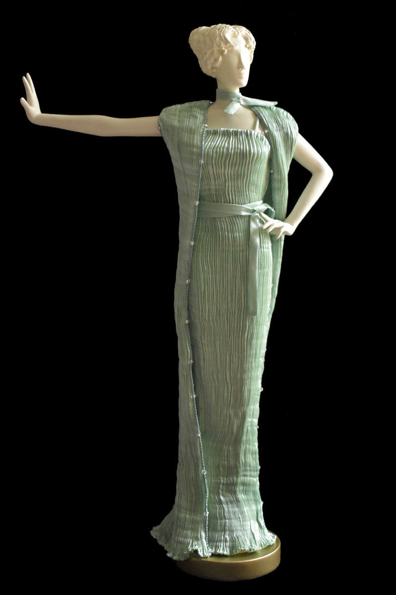 Diva Peggy opal green collectible fashion doll miniature mannequin - Roman